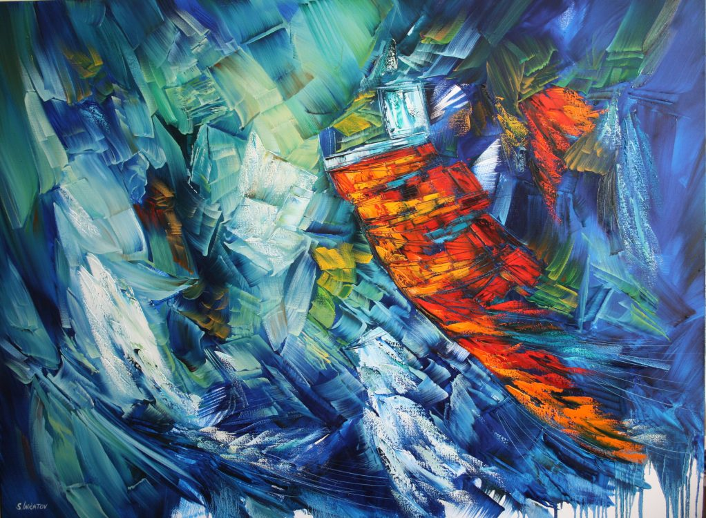 33. Touch of Love 90-120cm oil canvas 2020 inkatov