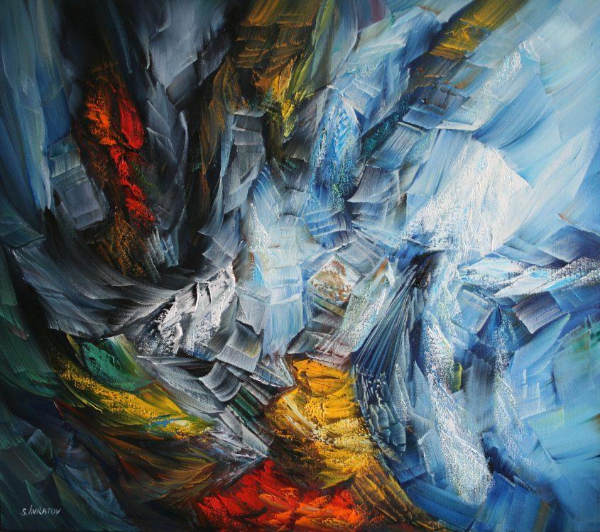 January 80-90cm oil canvas 2020