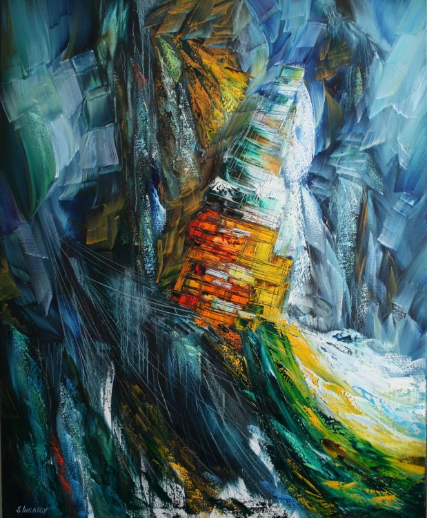 Premonition 100-80cm oil canvas 2020