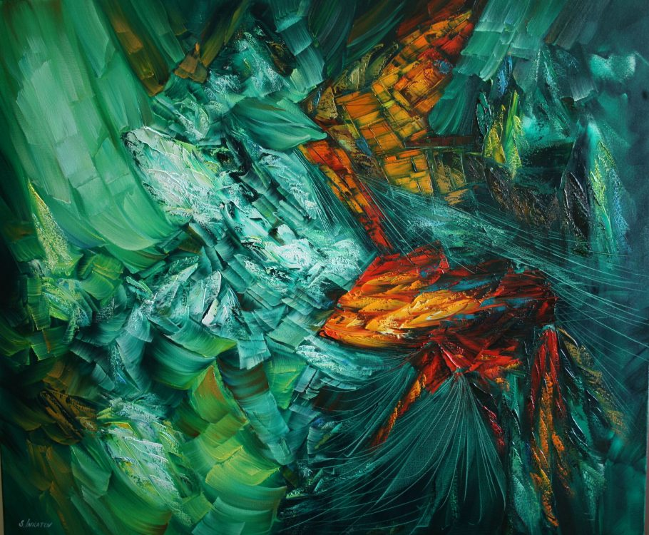 Territory of Love 100-120cm oil canvas 2019